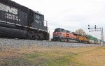UP #1996 Southern Pacific Heritage leads NS 22Z