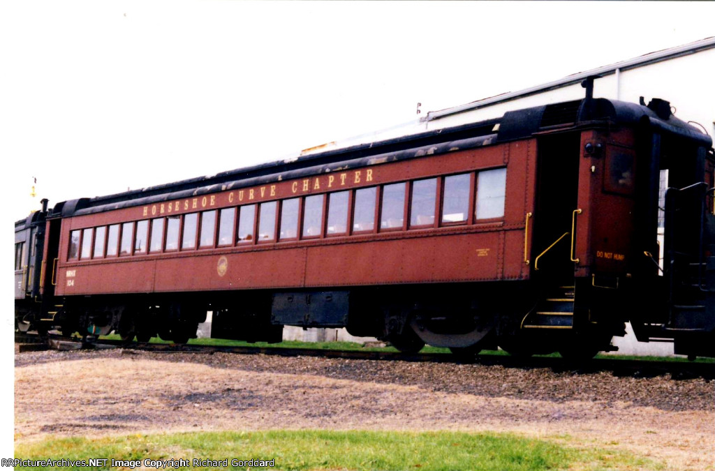Leased Passenger Car From The Horseshoe Curve Chapter NRHS
