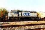 CSX #4614  in an early paint scheme