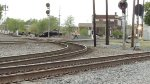 5-4-2013 CSXT Q218 & DUMBASS QI 229.5 CP 229 MUNCIE, IN (I WATCHED PEDESTRIAN GET KILLED HERE BY CONRAIL TRAIN IN EARLY 1990S WHILE TAKING PHOTO)
