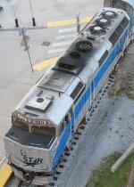 NRTX 120 waits as passengers load