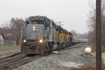 With 64 grain loads right behind the power, Z151 rolls south into town through Fuller