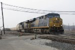 CSX 718 & 836 start out the Even Lead with G386-30