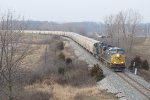 G386-30 rolls east past milepost 141