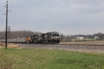 NS 70Z Setting out Two Bad Coal Cars