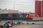 CN 2725 sits on the house track,
