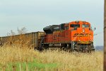 BNSF 9140 Works dou on a empty coal.