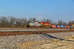 KCS 3967 Leads the KCIVN into Granite City IL.