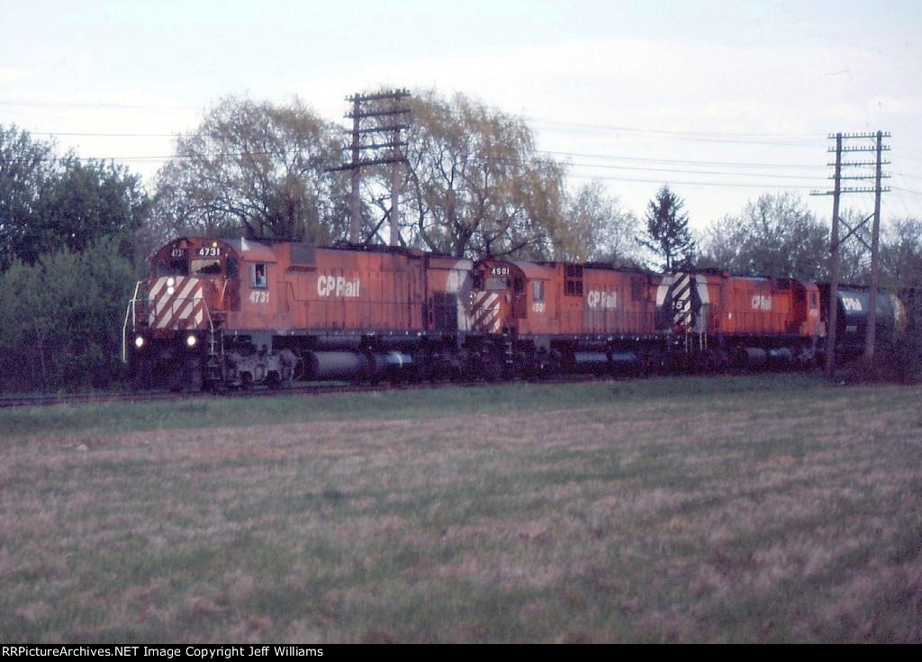 Inbound CP Train
