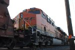 BNSF 7081 waits for a New Crew to take Her west towards BNSF Clovis NM.