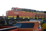 BNSF 7081 as she sits waiting to go west.