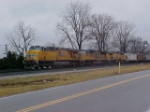 Union Pacfic triple Consist @ East Wayne Yard