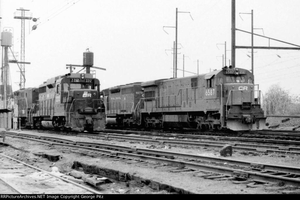 On the ready tracks at Orangeville