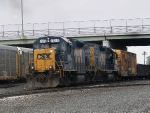 CSX 1515 switching in Niagara Falls, NY