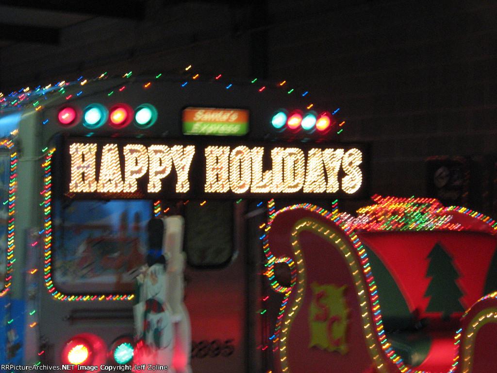 2007 CTA Holiday Train at Linden