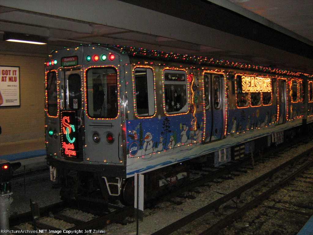 2008 CTA Holiday Train at Kimball
