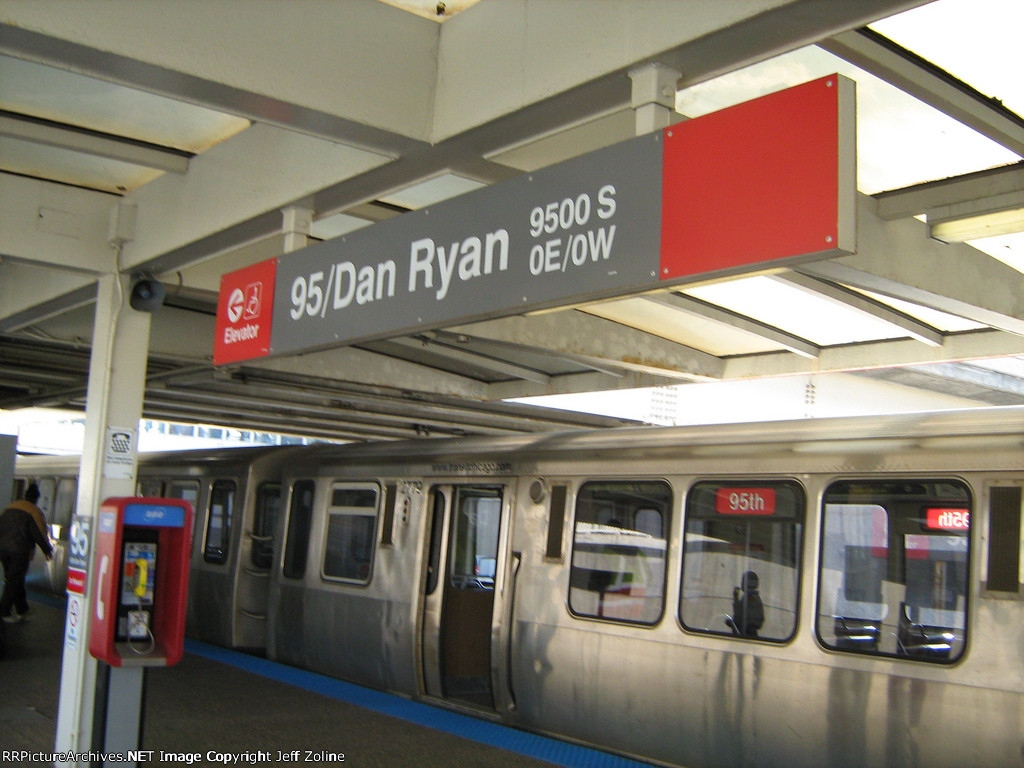 CTA Red Line Train at 95th Street