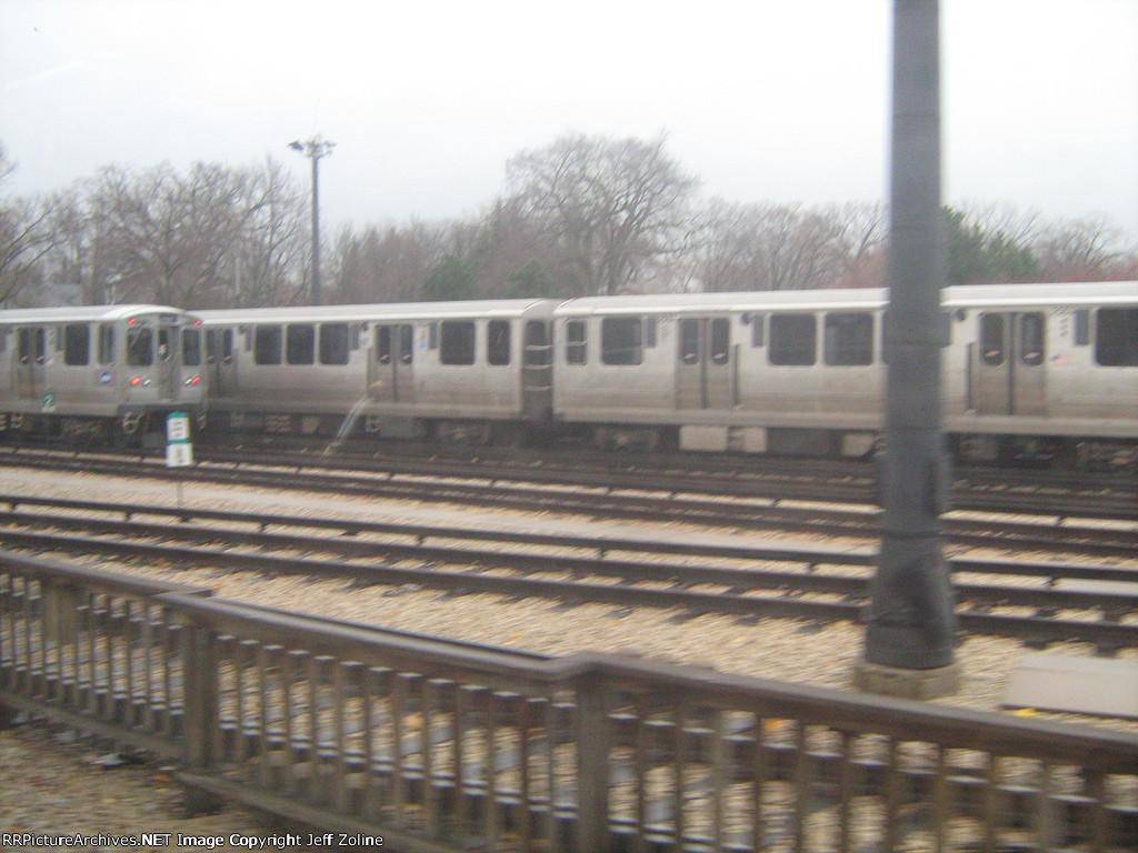 Linden CTA Train Yard