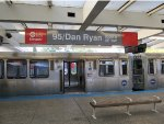 CTA Red Line Train at the Renovated 95th Street Station