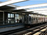 CTA Brown Line Train at Western