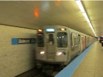 CTA Blue Line Train at Belmont