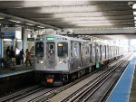 CTA Green Line Train at Clark/Lake
