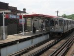 CTA Red Line Train at Sheridan