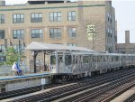 CTA Brown Line Train at Diversey