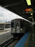 CTA Orange Line Train at Ashland