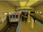2014 CTA Holiday Train at Logan Square