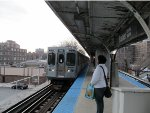 CTA Purple Line Train at Foster