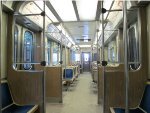 CTA 2600 Series Railcar Interior