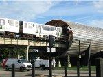 IIT McCormick Tribune Campus Center & CTA Tube