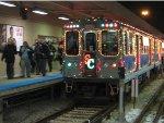 2008 CTA Holiday Train at Kimball