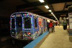 2016 CTA Holiday Train at Linden