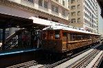 CTA Chicago L 125th Anniversary Special Train