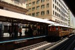 CTA Chicago L 125th Anniversary Special Train at Quincy