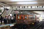 CTA Chicago L 125th Anniversary Special Train at Clark/Lake
