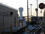Harlem/Lake CTA Yard as Seen from the Platform