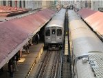 CTA Purple Line Express Train at Madison/Wabash