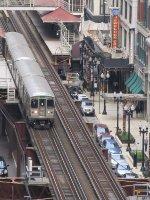 CTA Green Line at Madison/Wabash