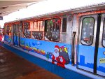 2011 CTA Holiday Train at 63rd/Ashland
