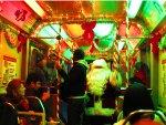 2011 CTA Holiday Train on the Skokie Swift