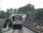 CTA Orange Line Train approaching 35th/Archer