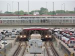 Final Rush Hour at 95th/Dan Ryan CTA Terminal Before Reconstruction