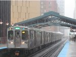 CTA Green Line Rerouted in the Loop during the Red Line Reconstrction Project