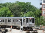 CTA 2200 Series Final Trip at Forest Park (Desplaines Yard)