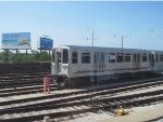 CTA 2200 Series Final Trip at Rosemont Yard