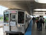 CTA 2200 Series Final Trip at Rosemont