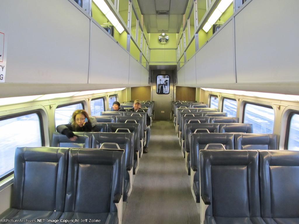 Metra Electric Highliner Railcar Interior